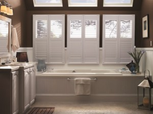 Polycore Shutters in Cypress