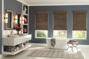 Woven Wood Shades in Houston
